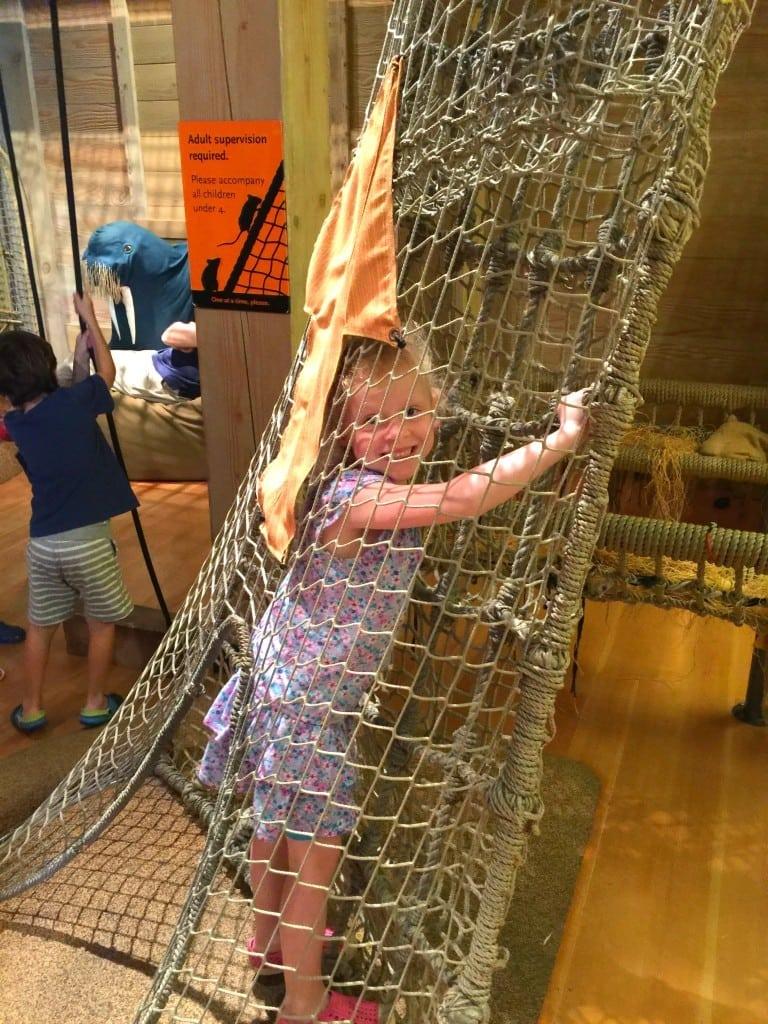 Noah's Ark at the Skirball Cultural Center in Los Angeles offers free admission one time per month for families.