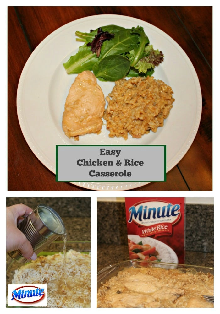 Easy Chicken Minute Rice Casserole for the Holidays