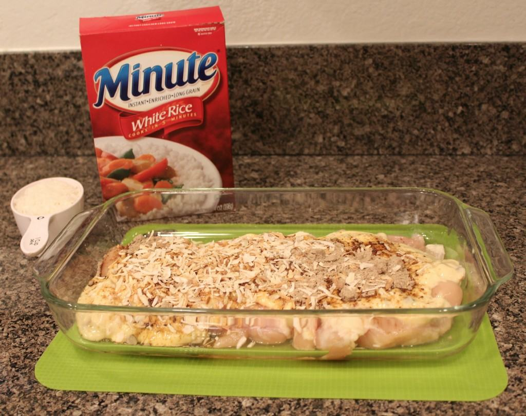 Minute Rice Chicken Rice Casserole Dish