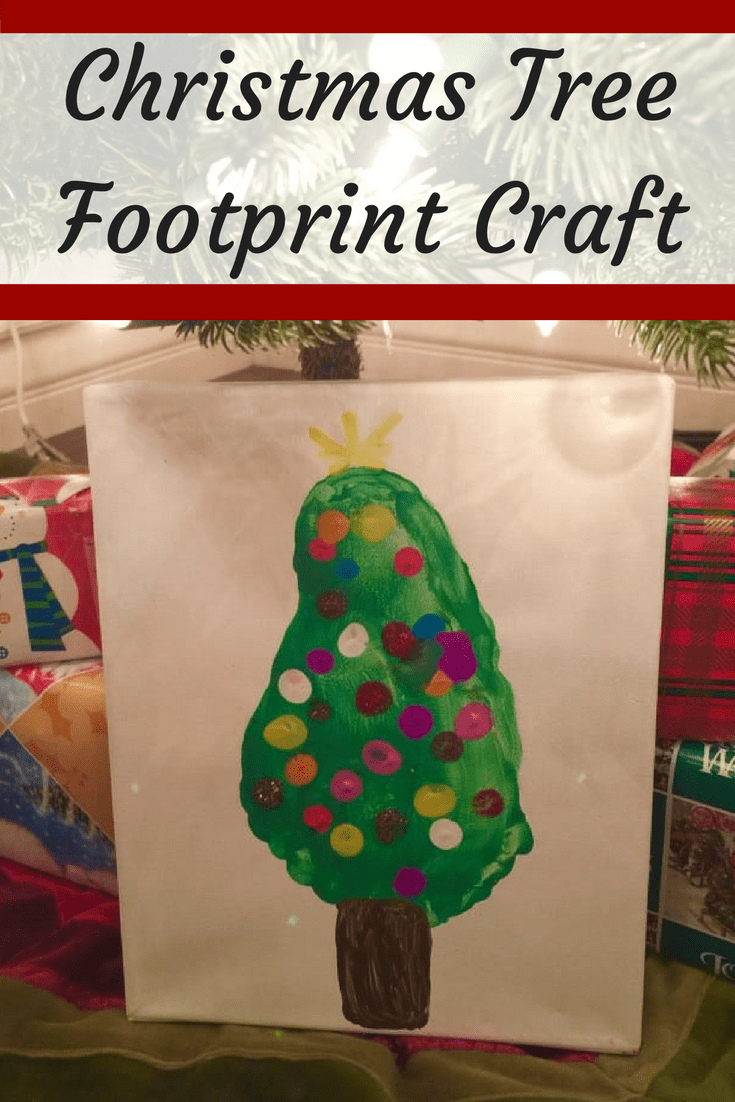 are you looking for a fun christmas craft for kids check out this easy christmas - Footprint Christmas Crafts
