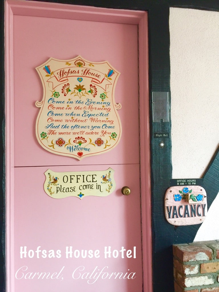 The Great Escape To Hofsas House Hotel In Carmel By The