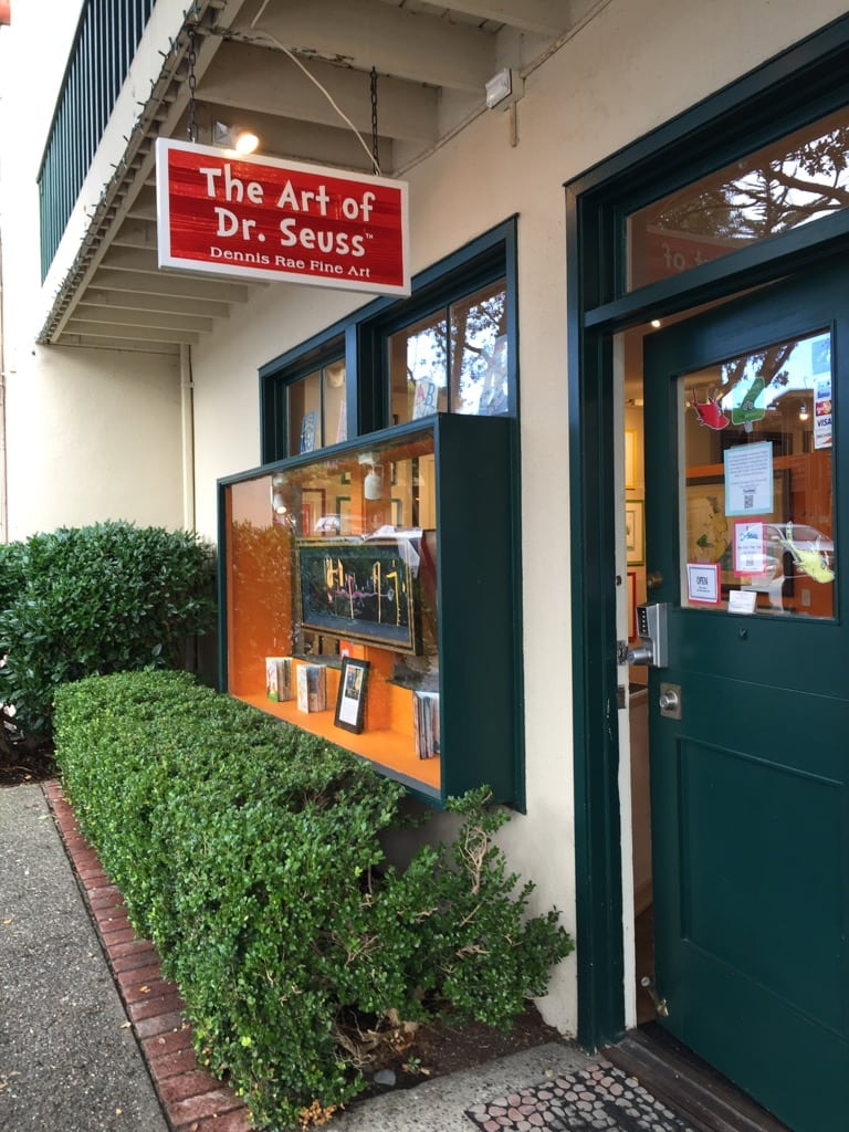 The Art of Dr. Seuss Gallery in Carmel, California