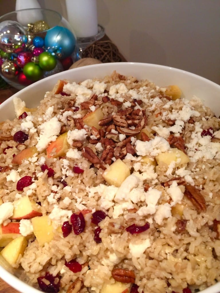 Rice Stuffing with Apples & Pecans