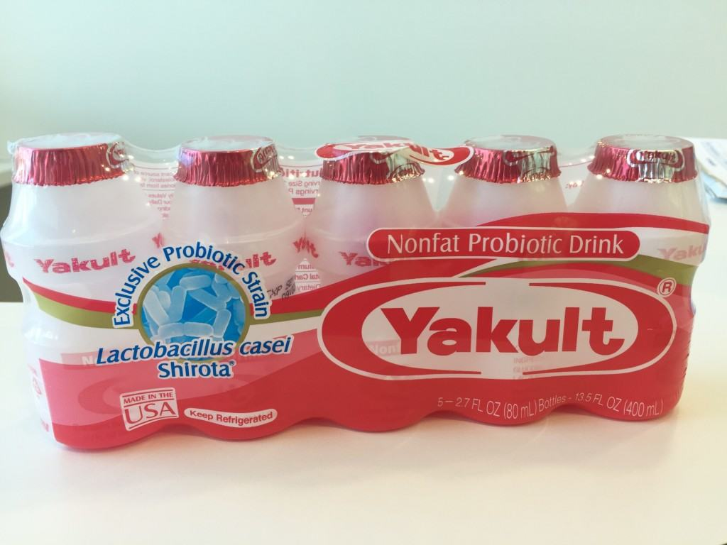 yakult the probiotic We all know yakult is good probiotic drink for your gut, but it has tons of sugar, so what about regular food for your inner health here are some foods instead of yakult.