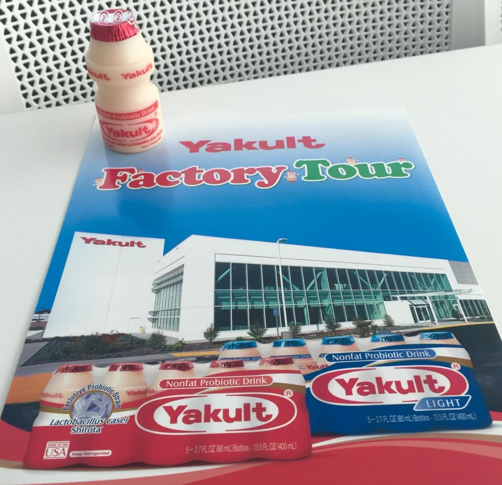 Take A Free Tour Of The Yakult Probiotic Factory In Fountain Valley California Advanced