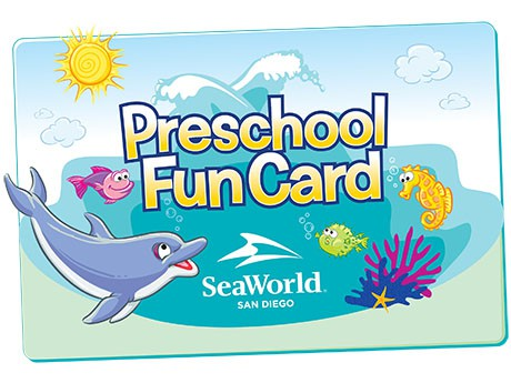 SeaWorld San Diego is delighted to offer a free 2017 SeaWorld Preschool Fun Card to the first 10,000 registered preschoolers, a $10 Fun Card will be available for purchase after that. This fun card grants kids ages 5 and younger unlimited admission to SeaWorld San Diego through Dec. 30, 2017.
