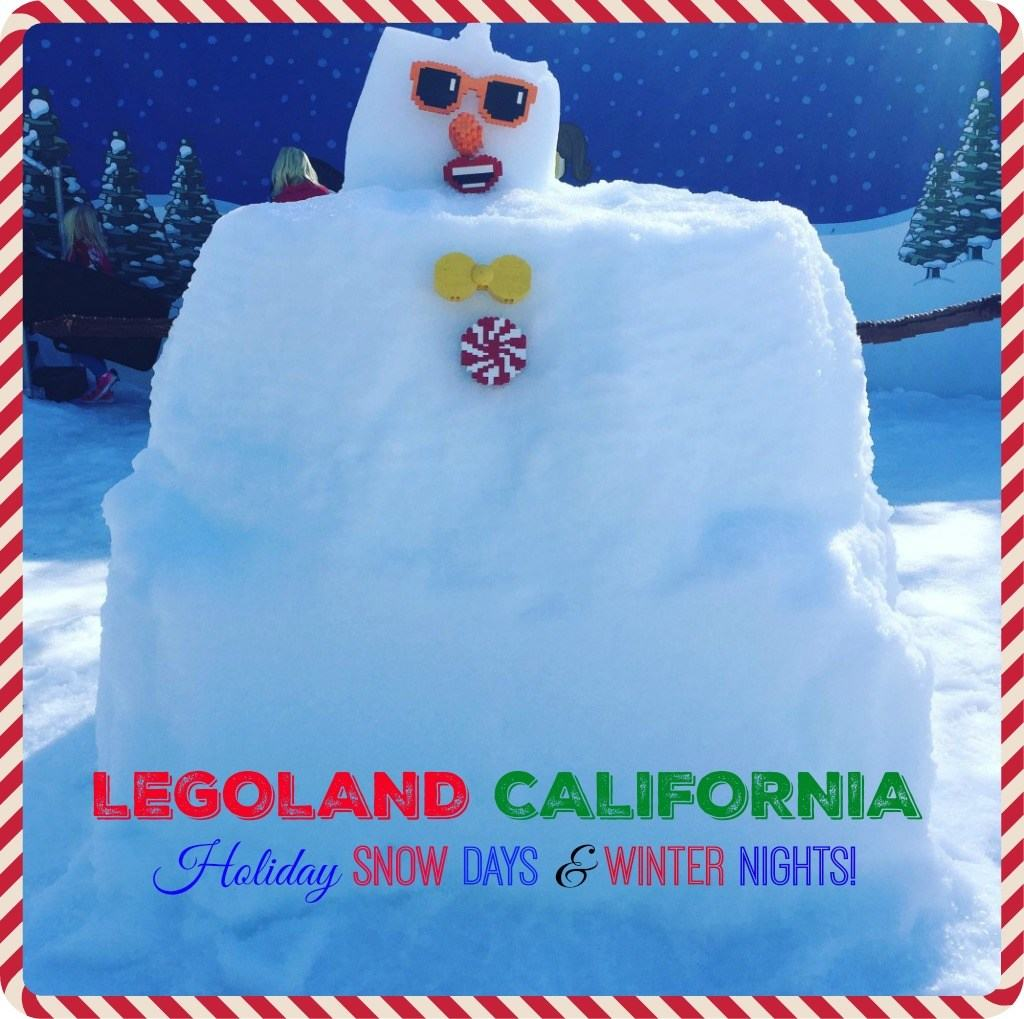Snow Days and Winter Nights at LEGOLAND California