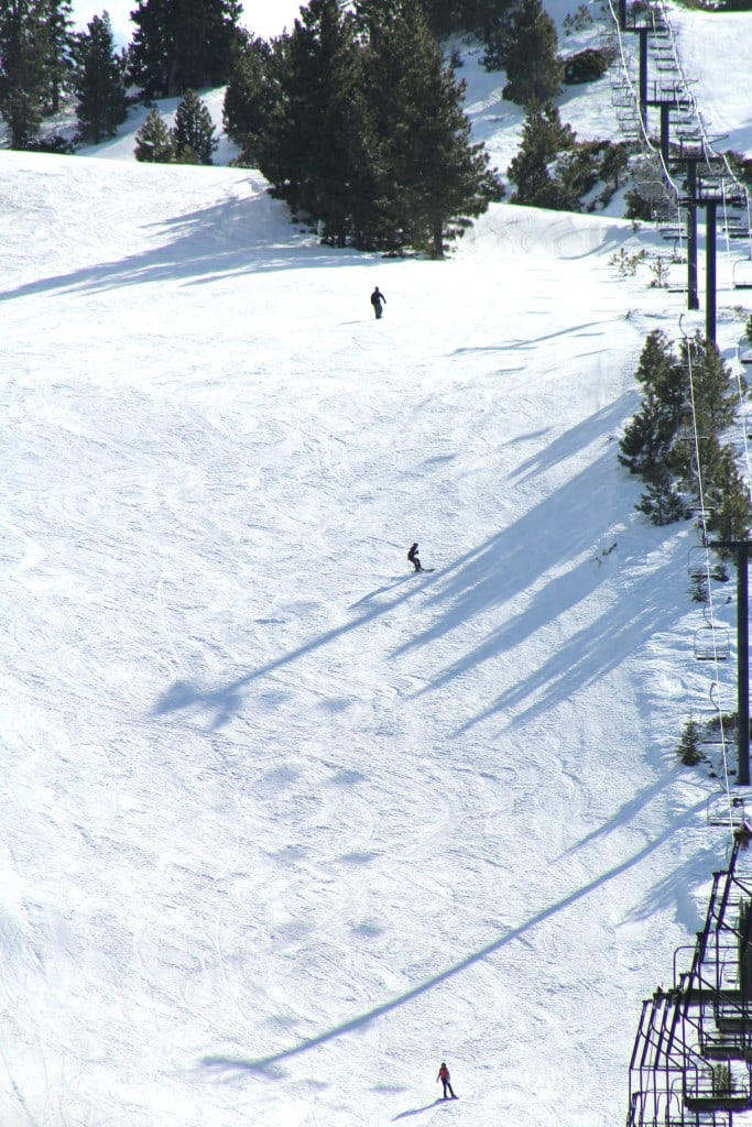 Snow Skiing in Southern California