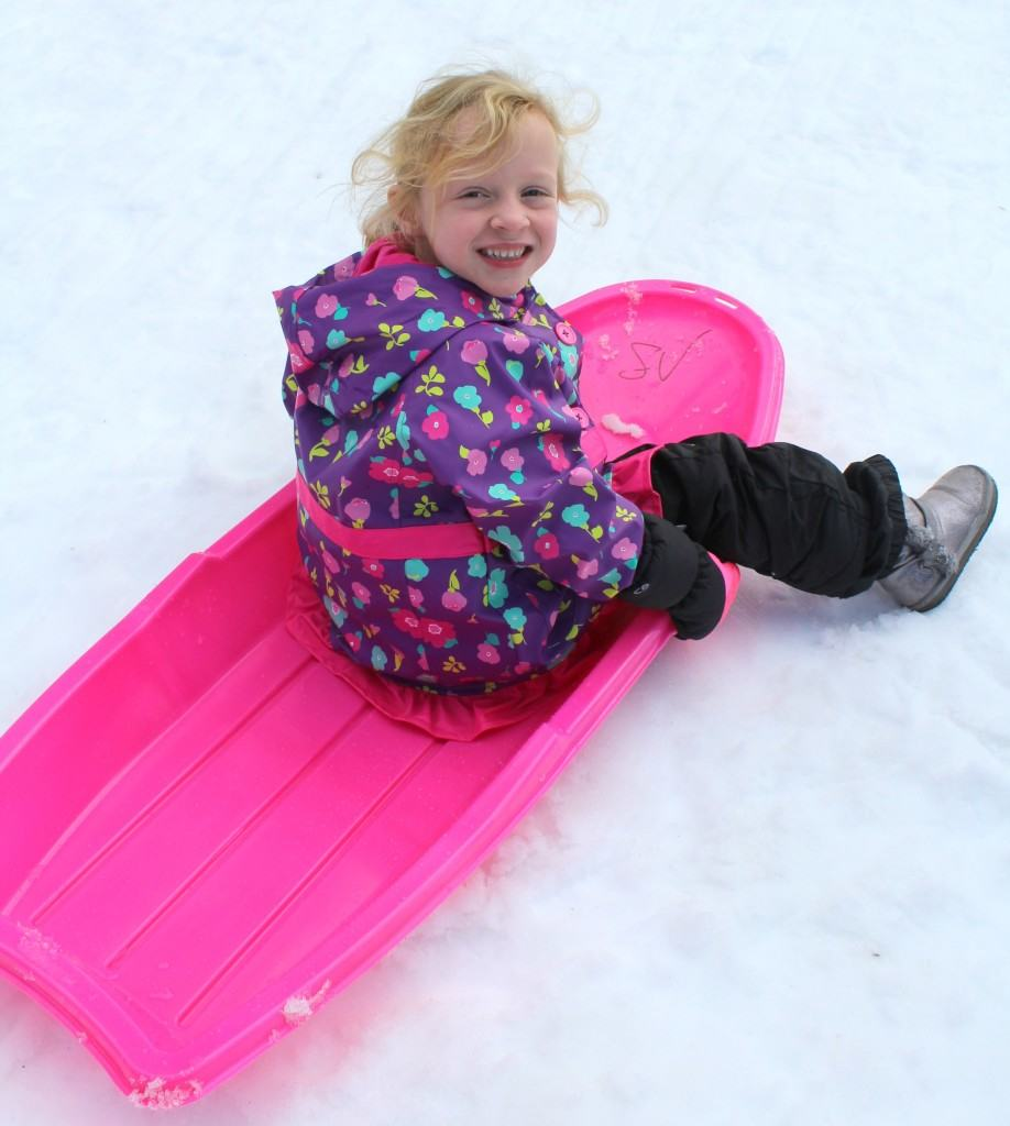 Snow Sledding Options at Snow Valley