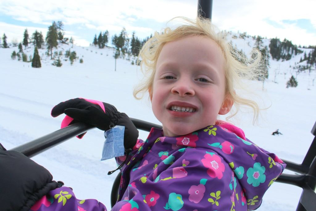 Snow Sledding at Snow Valley Mountain Resort