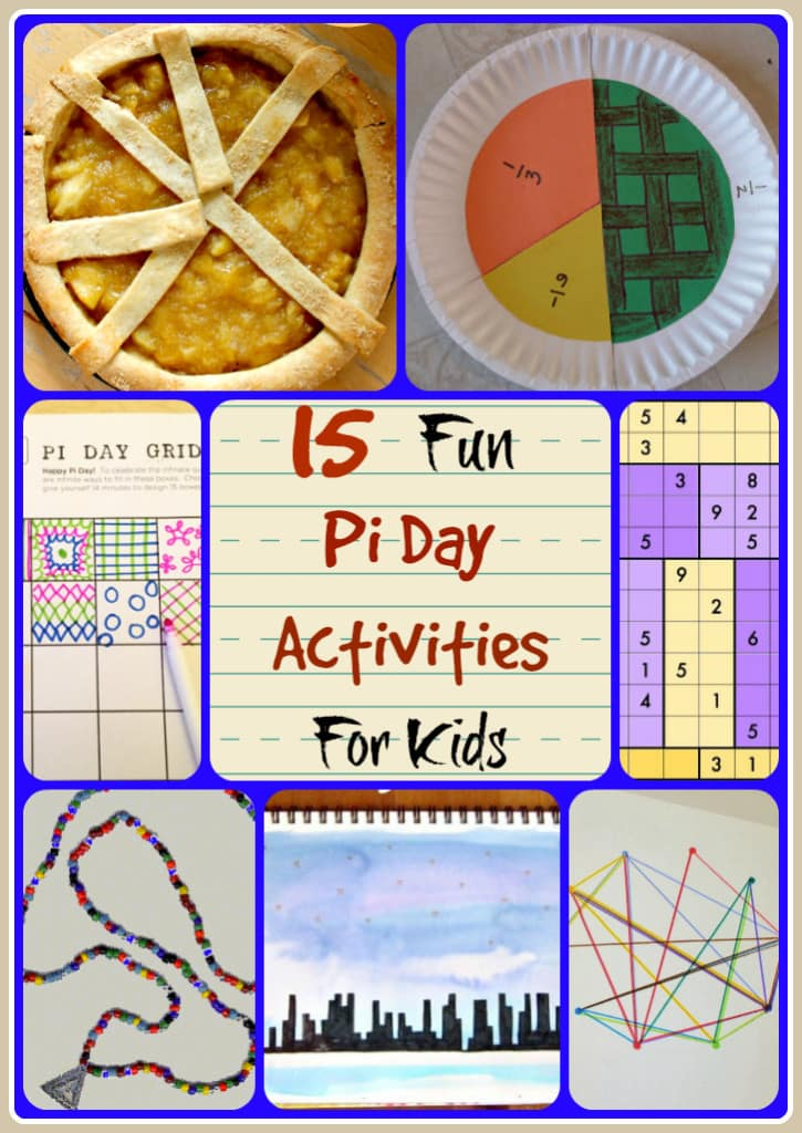 15 Fun And Easy Sewing Projects For Kids: 15 Fun Pi Day Activities For Kids