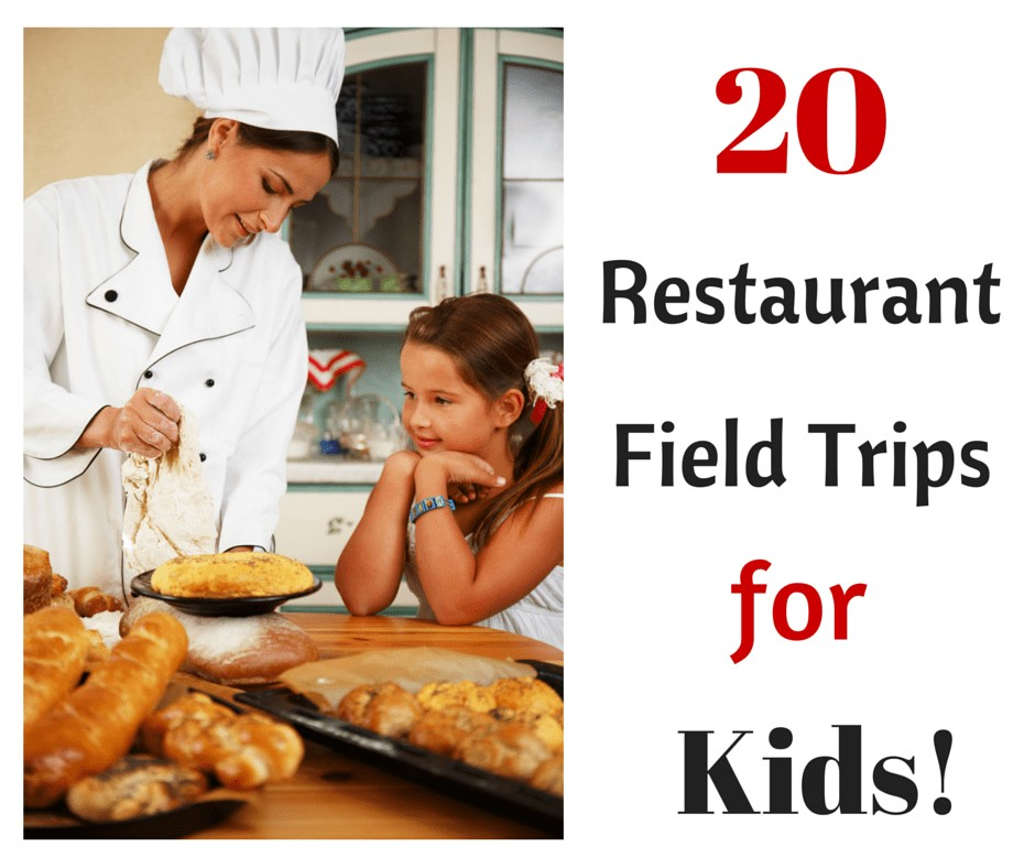 20 Restaurant Field Trips for Kids including such places as Red Lobster, Outback, Papa John's Pizza and Jamba Juice.