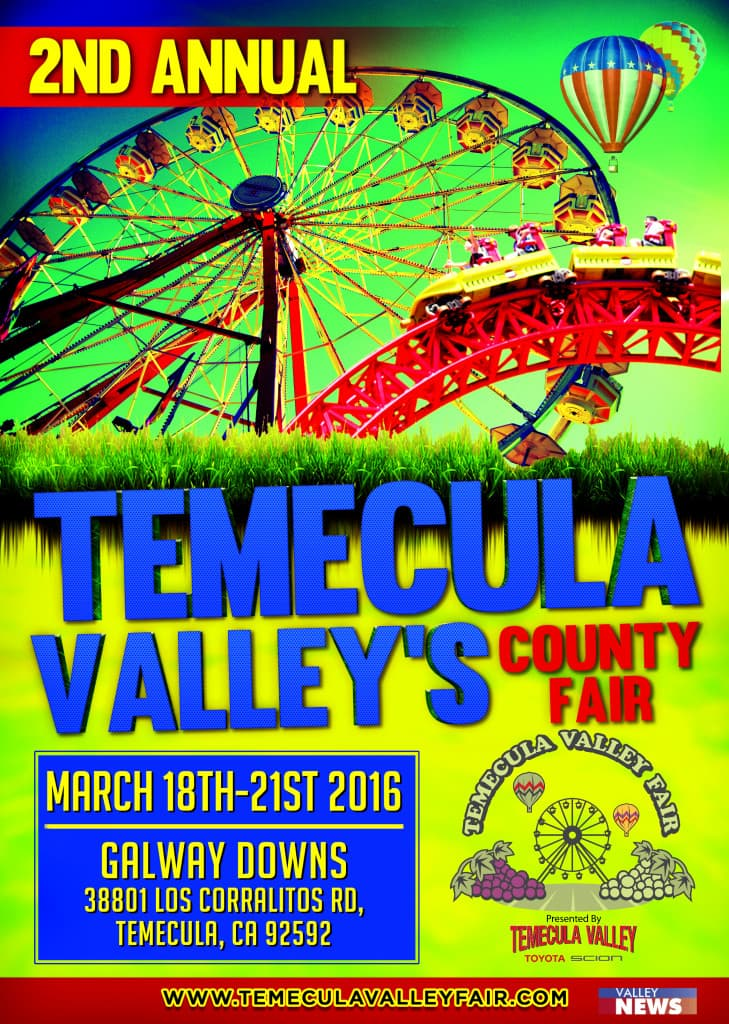 Attend The Temecula Valley Family Fair, Presented By Temecula Valley Toyota  Scion On March 18