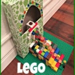 Celebrate St. Patrick's Day by making this easy LEGO Leprechaun Trap for Kids!