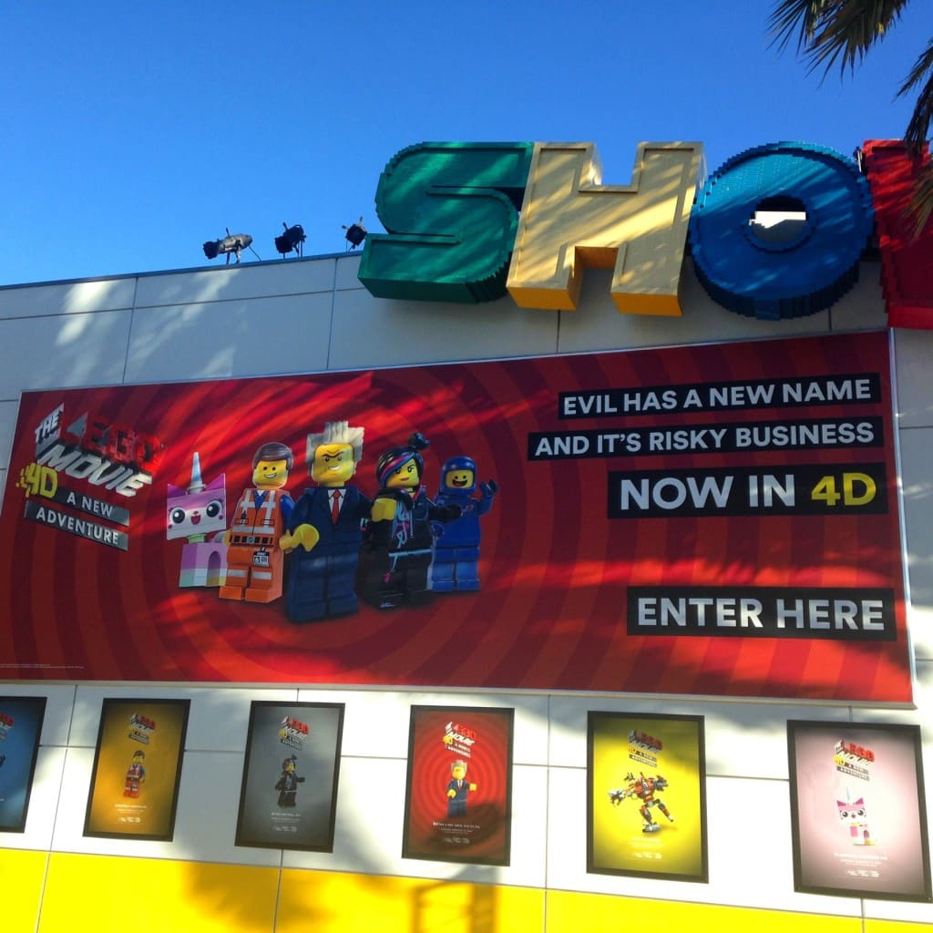 """The LEGO Movie™ 4D A New Adventure"" at LEGOLAND California"