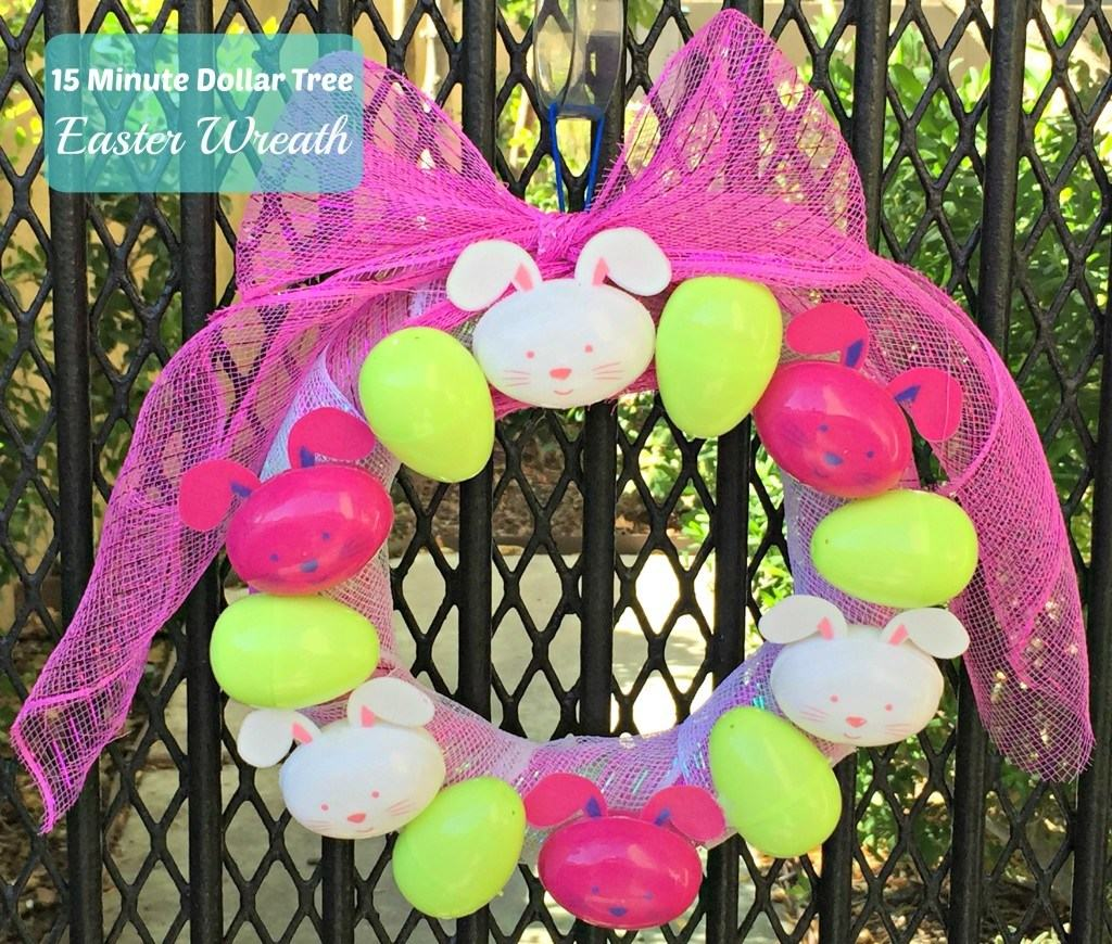 15-minute-dollar-tree-easter-wreath
