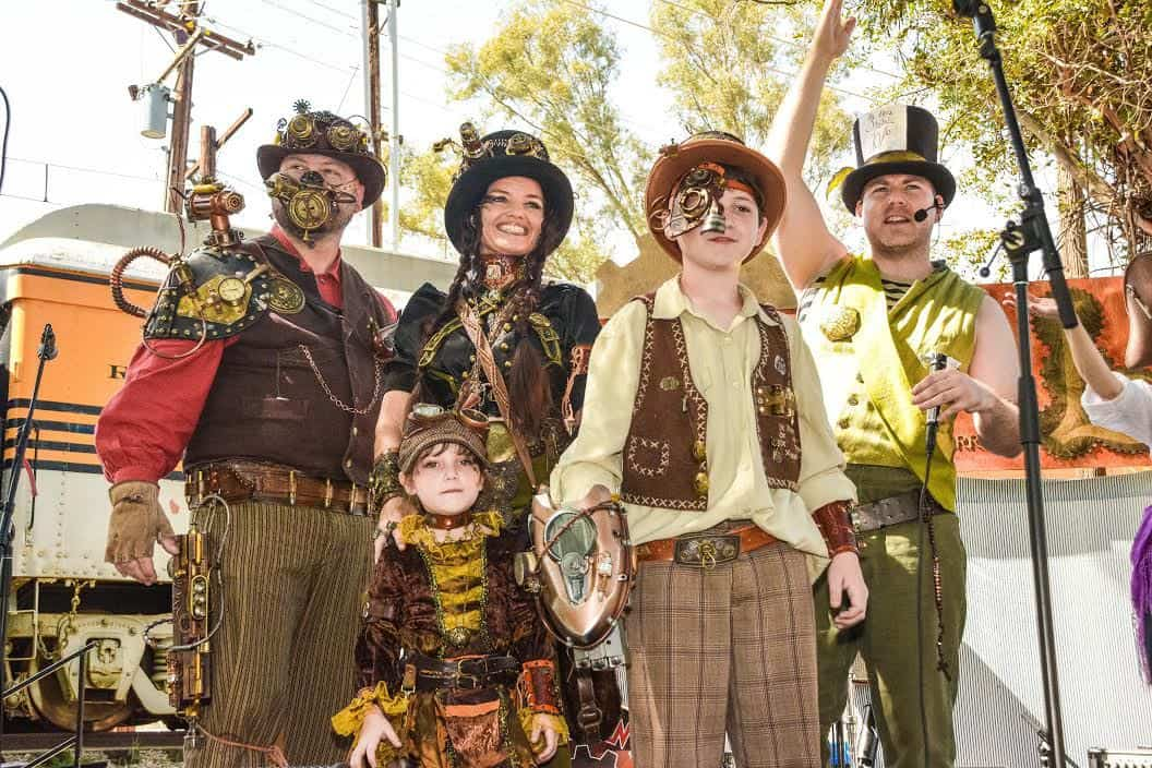 Do you love Steampunk? Bring the family and celebrate the fantasy, history, and ingenuity behind Steampunk on Saturday, March 17 and Sunday, March 18at the Iron Horse Family Steampunk Carnivale at the Orange Empire Railway Museumin Perris, California. Tickets are now on sale for this yearly event.