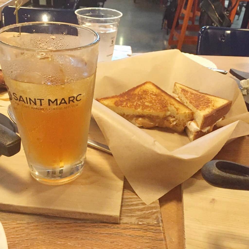 Saint Marc USA is a one-of-a-kind restaurant!  The food is nostalgic American cuisine with a New Orleans, creole spin to it.  It has a plethora of great selections, being a pub-café, fantastic bakery and cheese shop.  It also has a tremendous bar offering the finest wines and a great selection of brewskies and cocktails.  Here you have some of the finest trained chiefs in the country, coming together and thoughtfully creating a concept that the whole family will go crazy for!