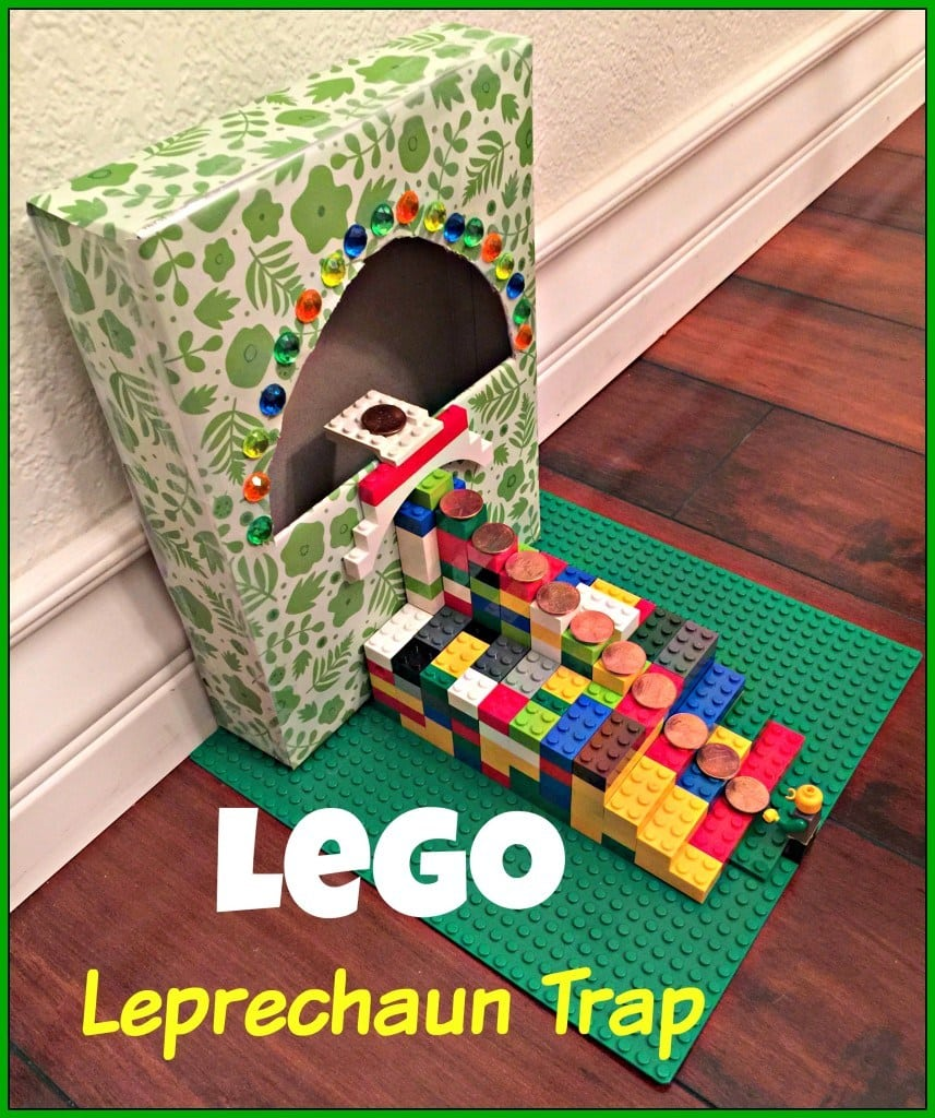 How to make a lego leprechaun trap with step by step directions and pictures