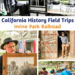 Are you looking for a fun and interactive California history field trip for kids? Then check out the California History Education Program at the Irvine Park Railroad in Orange, California. Each year the Irvine Park Railroadinvites hundreds of homeschoolers and school groups from across Southern California to come and learn about California's gold rush period and early state history.