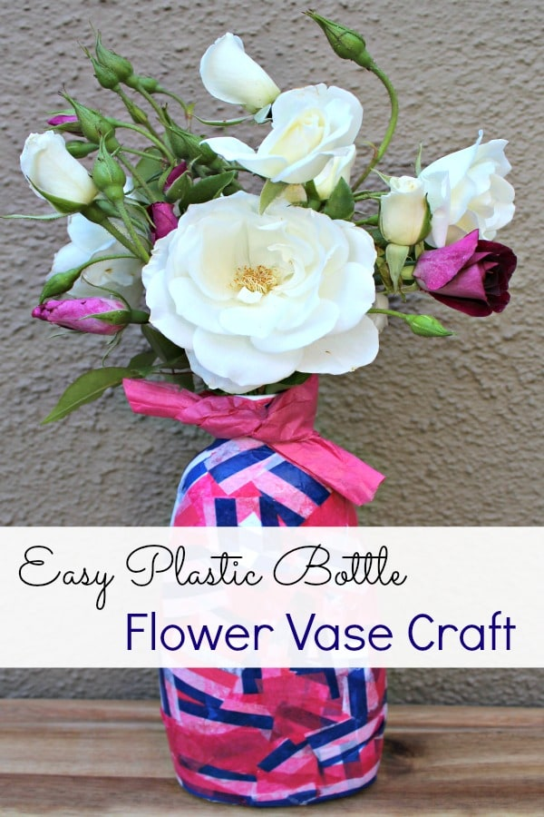 How To Make A Recyclable Plastic Bottle Flower Vase Socal Field Trips