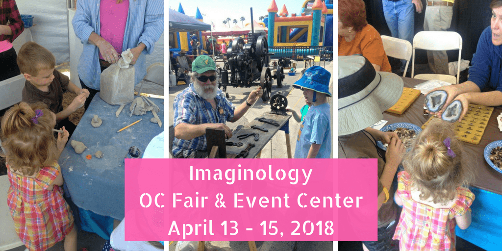 Attend the free OC Fair Imaginology Youth Expo in Costa Mesa from April 13-15, 2018. There is free admission on Friday for students and chaperons.