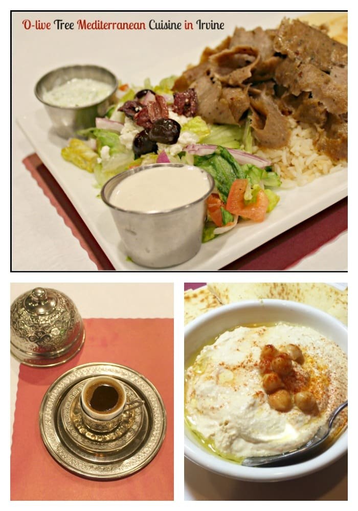 O-live Tree Mediterranean Cuisine is based upon the premise of serving deliciously healthy food from recipes handed down through generations. The founder of this fine establishment wrote a recipe book and received high accolades, to include several television appearances sharing her tasty foods for healthy living. In following her dream, she moved all the way from Turkey to Irvine, opening O-Live Tree to share her fine creations with the Irvine community!