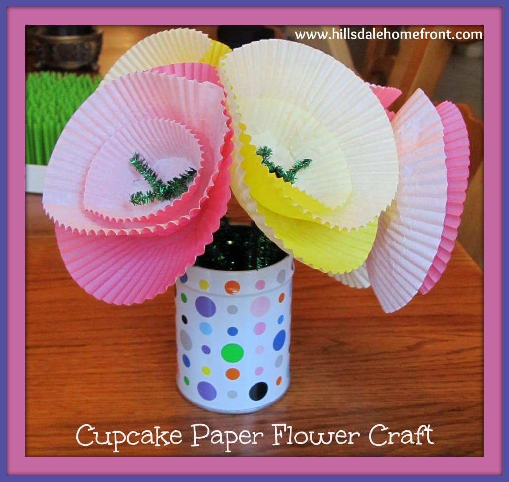 20 Flower Crafts for Preschoolers