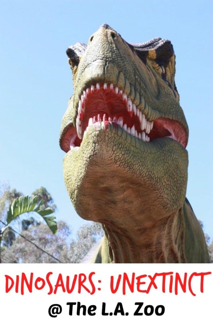 Dinosaurs Unextinct at the LA Zoo in Los Angeles