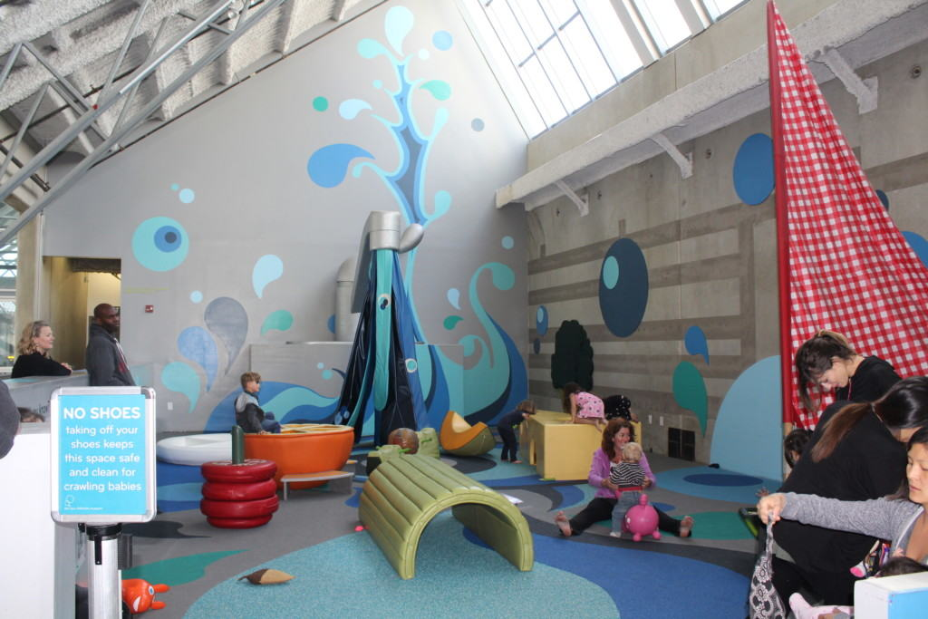 The New Children's Museum in San Diego has a mission is to stimulate imagination, creativity and critical thinking in children and families through inventive and engaging experiences with contemporary art that you can see all around you.
