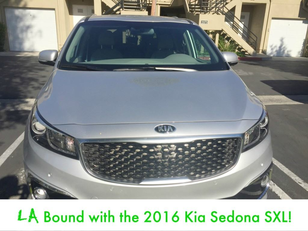 LA Bound with the 2016 Kia Sedona SXL