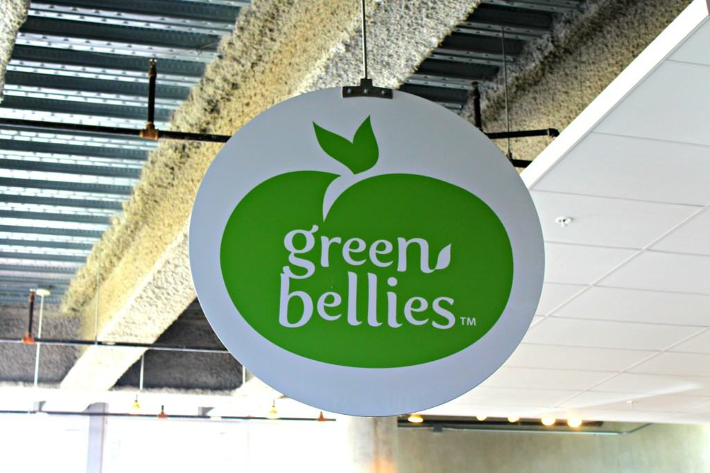 green bellies cafe at The New Children's Museum in San Diego