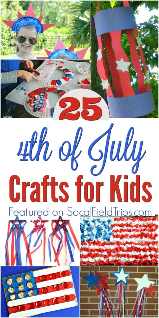 25 4th of July Crafts for Preschoolers