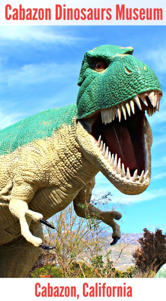 Cabazon Dinosaurs is one of the numerous dinosaur museums in Southern California that offer fields trips for schools, homeschoolers and scout troops.