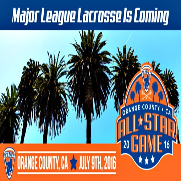 """A new feature this year at the MLL All-Star Game is Kid Ink, a local Southern California hip-hop performer and producer who has collaborated with Sean """"Diddy"""" Combs and Usher, who will perform during halftime and a post game show."""