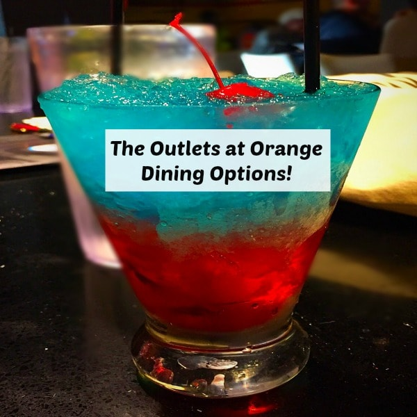 The Outlets of Orange Dining Options