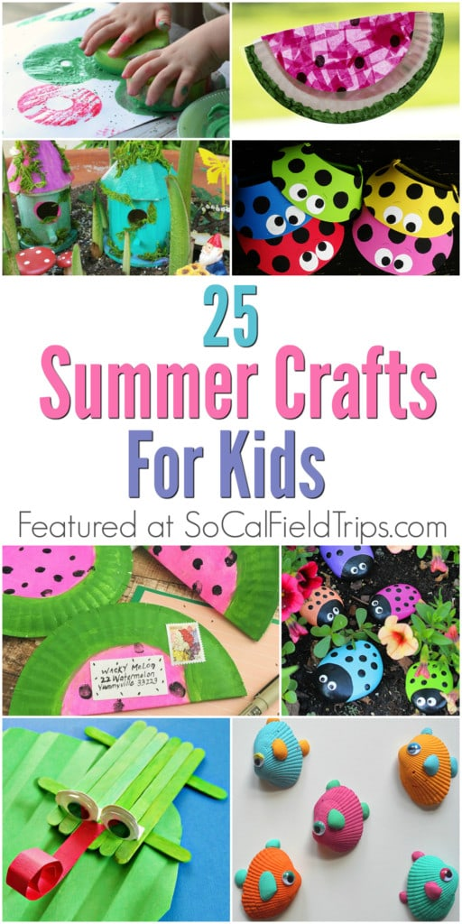 25 Summer Crafts for Kids