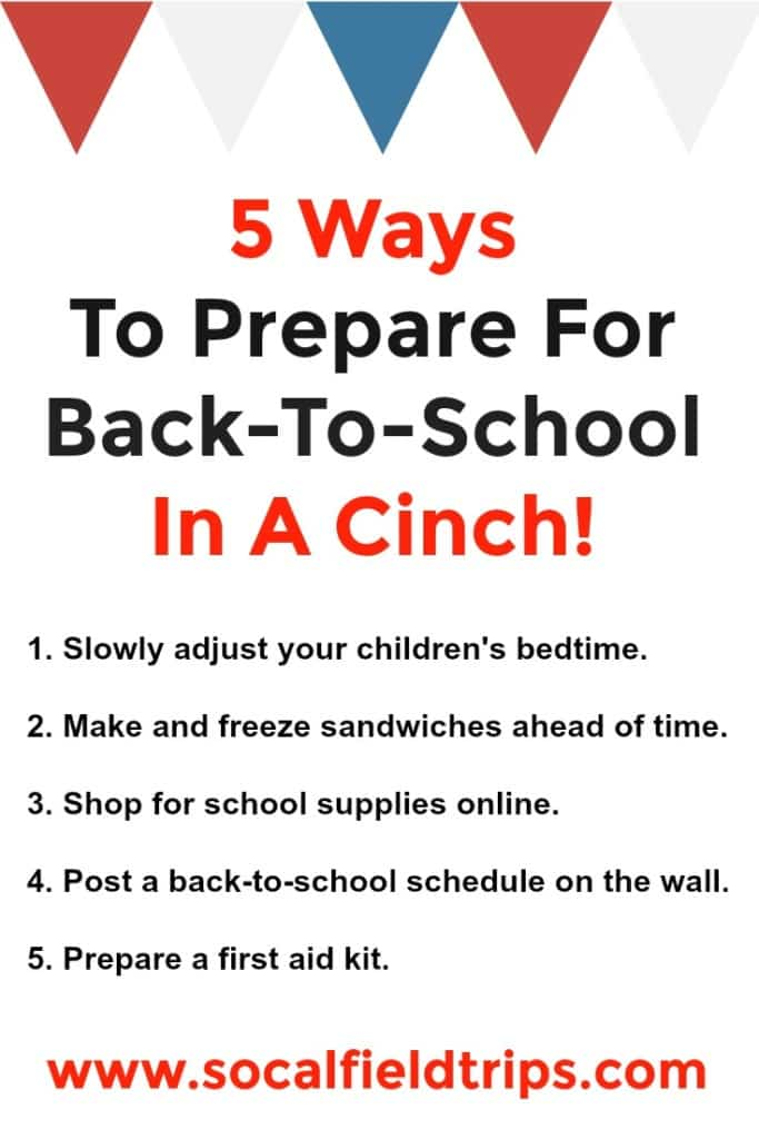 Check out these Top 5 Back-To-School Time Saving Tips! Not only will you save time, but money too.