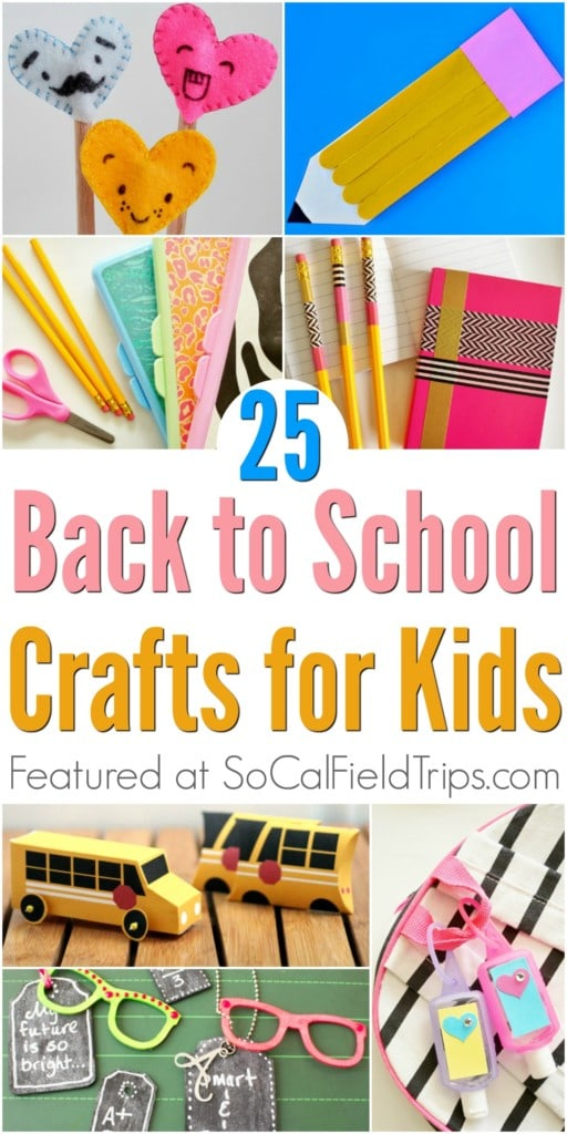 Are you a teacher or daycare provider looking for a back-to-school craft or your students? Then check out these 25+ Easy Back To School Crafts that are perfect for preschool and elementary school students, including toddlers.