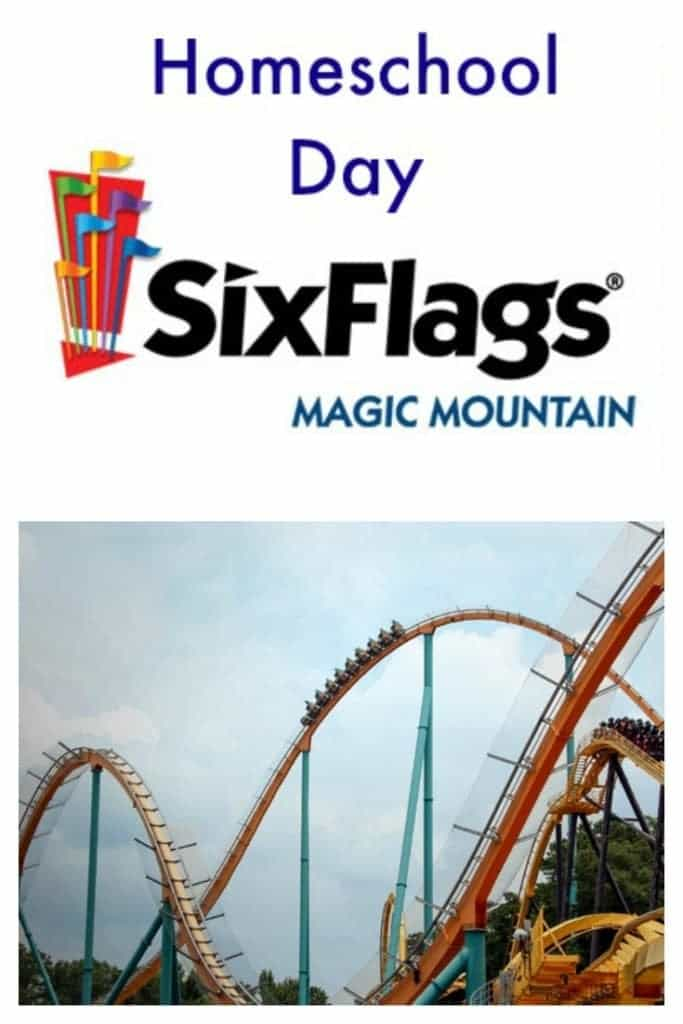 Are you a homeschooling family in Southern California? Then you will want to attend Homeschool Day at Six Flags Magic Mountain in Valencia where homeschoolers get in for only $35 for the day, plus the option to purchase a catered lunch.