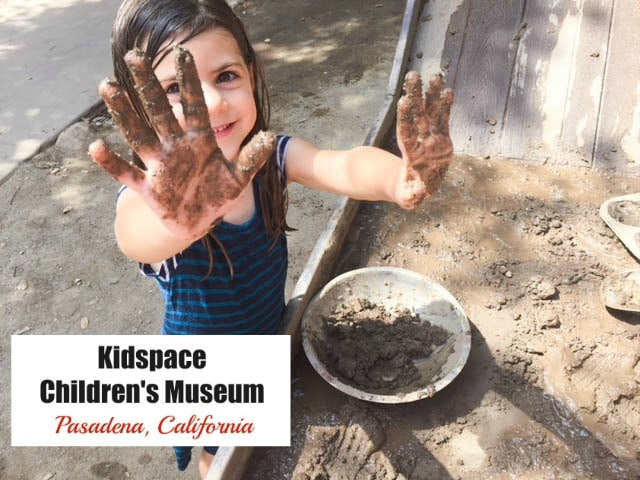"""Kidspace Children's Museum in Pasadena believes that """"when learning becomes fun, the learner does so willingly."""" This children's museum in Southern California offers an expansive outdoor play area that features hands-on arts & science exhibits. The first Tuesday of every month is also Free Family Night!"""