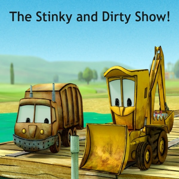 Are you looking for a new television show to watch with your kids? Then check out all new The Stinky and Dirty Show on Amazon Video!