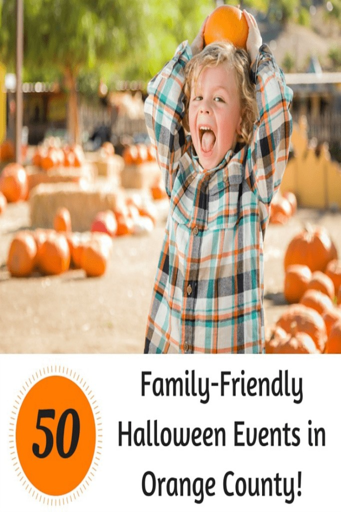 Halloween is almost here! Check out these 50+ Family Friendly Halloween Events in Orange County. You can be sure that all of these events are safe and fun for your little ones.