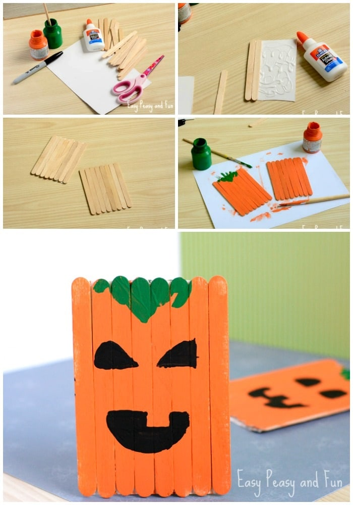 Are you a teacher or daycare provider looking for an easy pumpkin craft for kids? Then look no further! Here are 25 Pumpkin Crafts For Kids that are guaranteed to be fun and inspiring.
