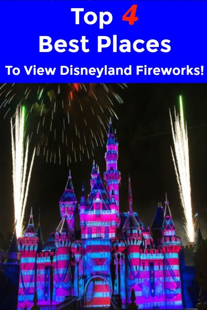 Are you looking for the best place to watch the Disneyland fireworks? Then check out these Top 4 Best Places To The Watch The Disneyland Fireworks with your family! The 14-minute-long Disneyland fireworks display is a spectacular unlike no other as you're surrounded by a mesmerizing mix of breathtaking pyrotechnics and jaw-dropping visual effects.