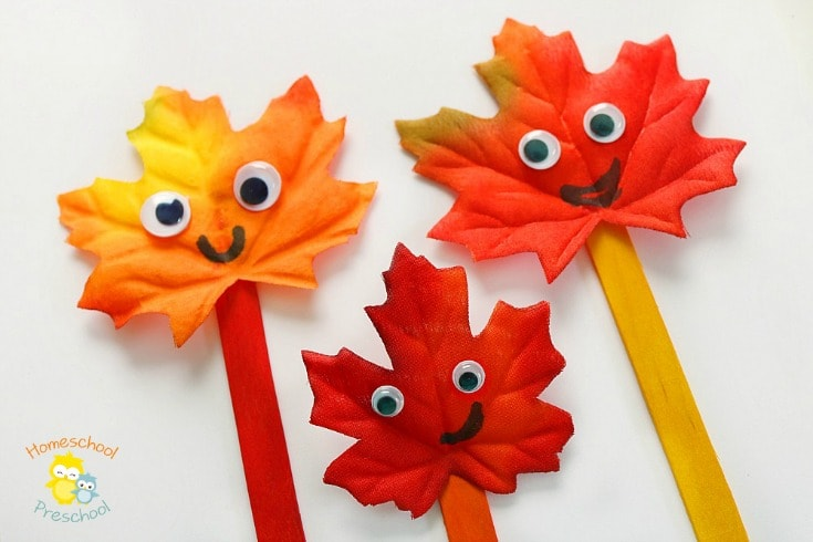 25 easy leaf crafts for kids socal field trips