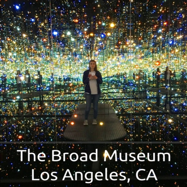 Do you want to visit a contemporary art museum in Los Angeles! Then visit the Broad! Founded by philanthropists Eli and Edythe Broad, The Broad museum is home to more than 2,000 works of art, which is among the most prominent holdings of postwar and contemporary art worldwide. Designed by Diller Scofidio + Renfro in collaboration with Gensler, the three-story museum features 50,000 square feet of column-free gallery exhibition space divided between two floors.