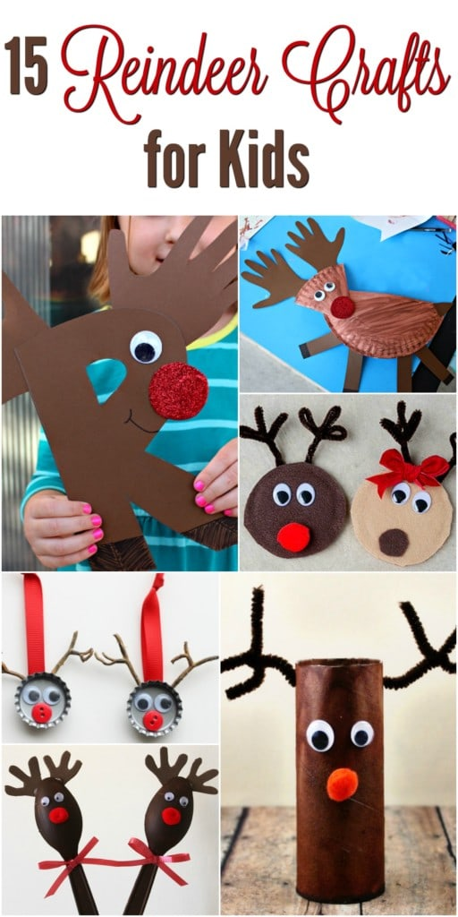 15 Easy Reindeer Crafts For Kids Socal Field Trips