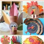 Are you looking for an easy Thanksgiving craft for kids? Check out these 25 Creative Thanksgiving Craft Ideas that are easy for even toddlers, preschoolers and elementary school students to make.