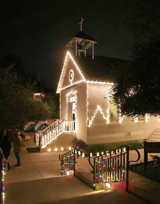 Heritage Park Christmas Lights
